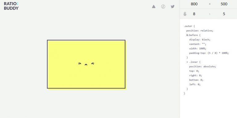 Дизайнеры, рассчитайте идеальные пропорции с RatioBuddy