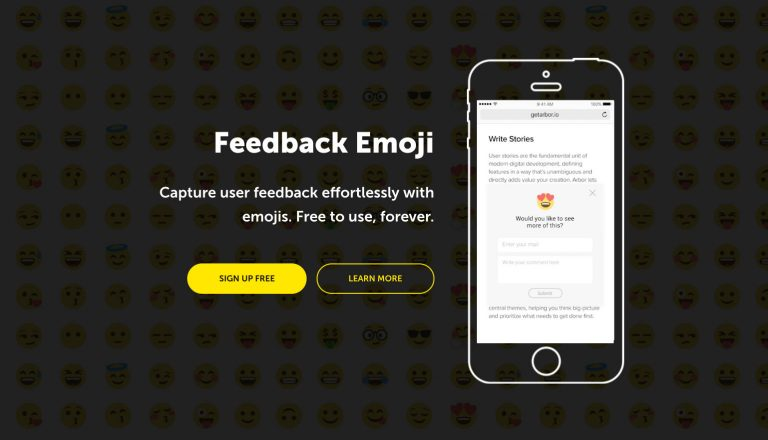Соберите бесплатную обратную связь с пользователем Cute Emojis