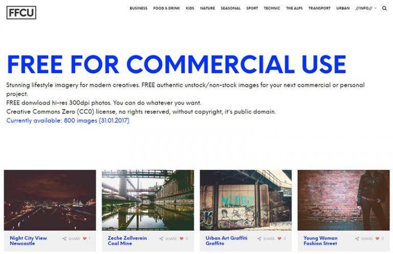 Бесплатно для коммерческого использования – новый сайт фондовой фотографии CC0