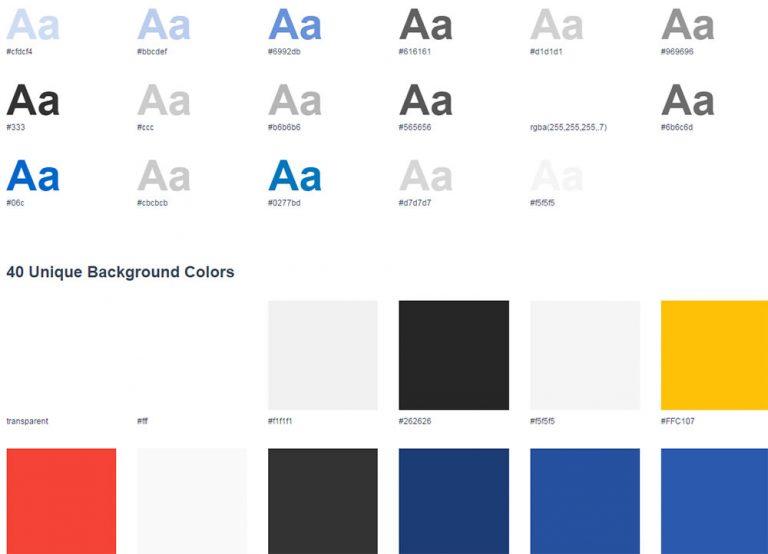 Визуализация любой таблицы стилей CSS с помощью статистики CSS