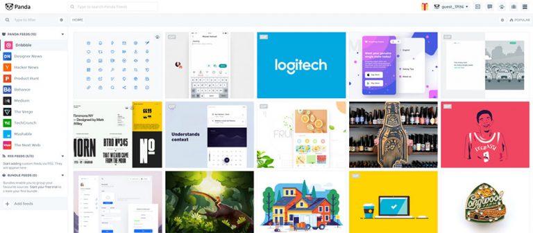 Panda 5 – Smart News Reader для дизайнеров и разработчиков
