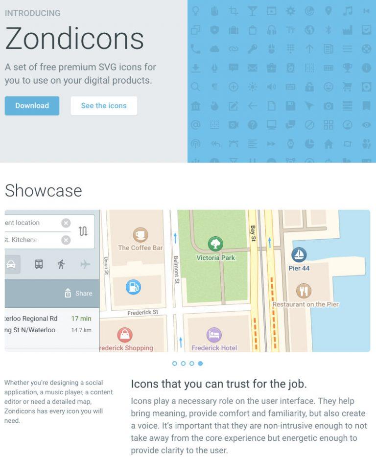 Zondicons – бесплатные иконки SVG бесплатно