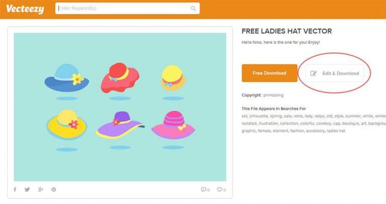 Бесплатный бесплатный векторный редактор на основе браузера от Vecteezy