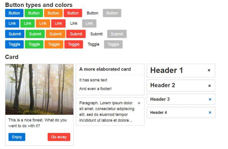 Picnic CSS – легкая библиотека CSS для любых веб-проектов