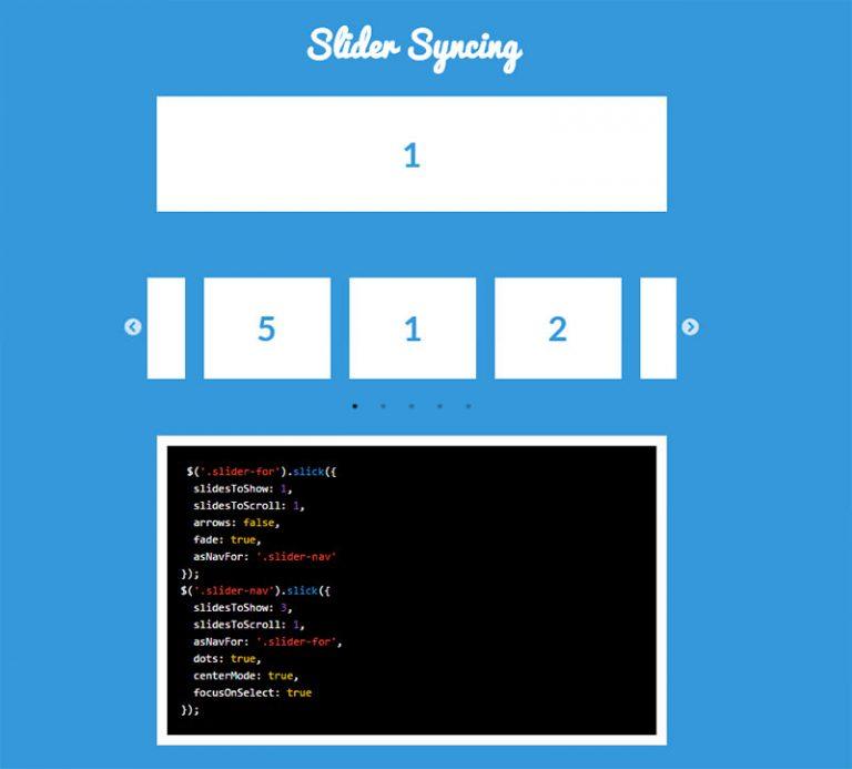 Создавайте многофункциональные карусели jQuery с Slick