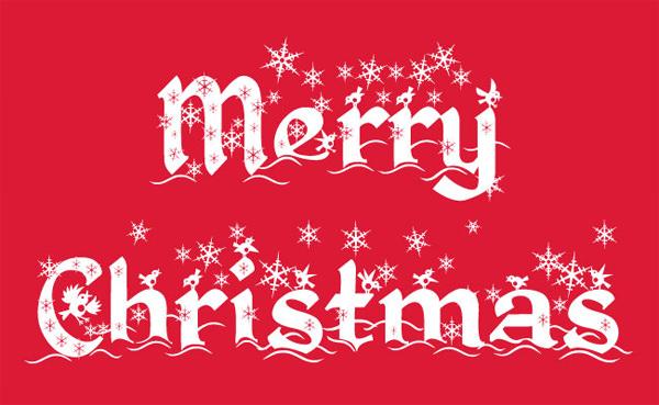 Ресурсы дизайна на Рождество: 80 шрифтов, иконок, векторов и учебных пособий