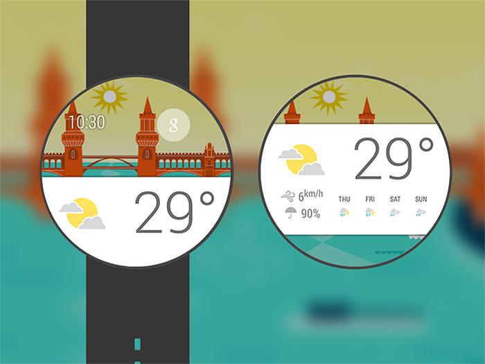 20 Wrist-Worthy SmartWatch UI Редизайн