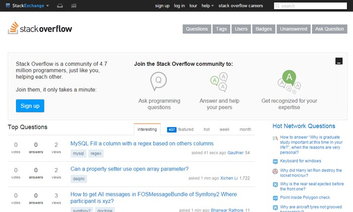 Топ 10 сайтов, чтобы задать все ваши вопросы программирования
