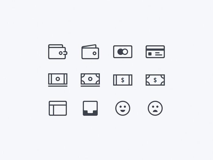 18 бесплатных минималистичных иконок для скачивания