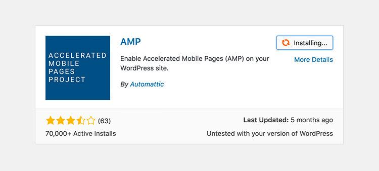 Как использовать AMP с WordPress