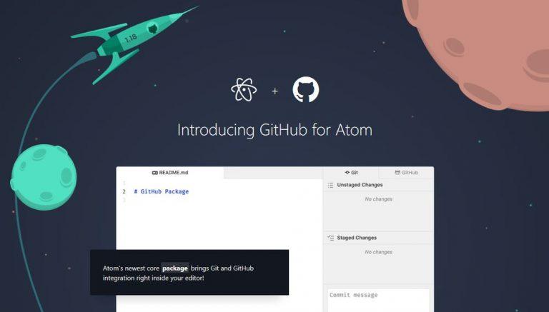 Управление проектами Git и GitHub с Atom [Guide]