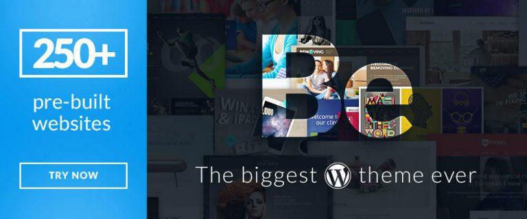 14 продвинутых многоцелевых тем WordPress для любого типа проекта
