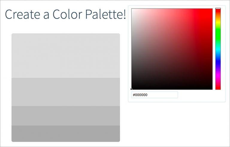 Найти удивительные пользовательские цветовые палитры с Color Hunt