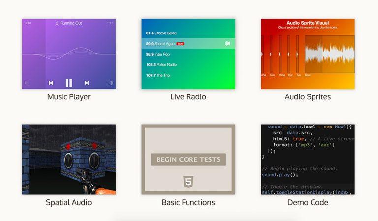 Howler.js, вероятно, лучшая аудио библиотека JavaScript в мире