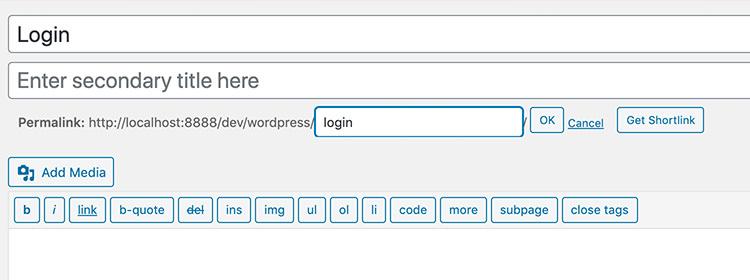 Как создать полностью настроенную страницу входа в WordPress
