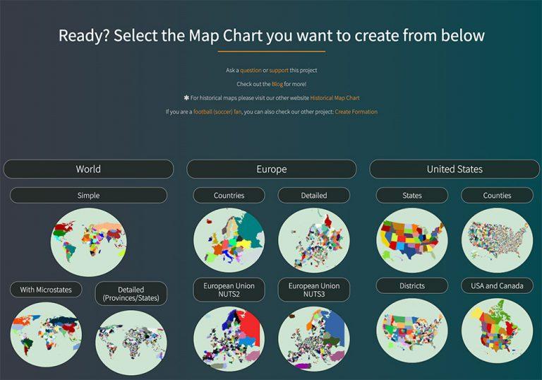 10 бесплатных инструментов для создания собственных карт в 2020 году