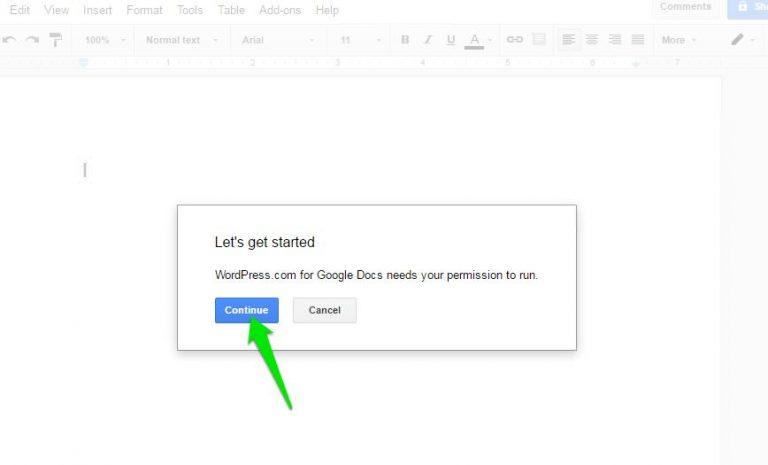 Как писать и публиковать из Документов Google в WordPress