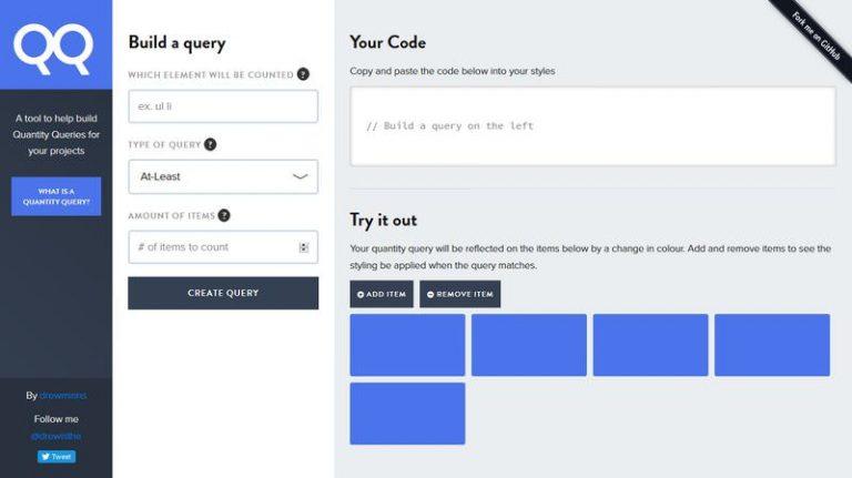 Используйте количественные запросы, чтобы сделать ваш CSS ориентированным на количество