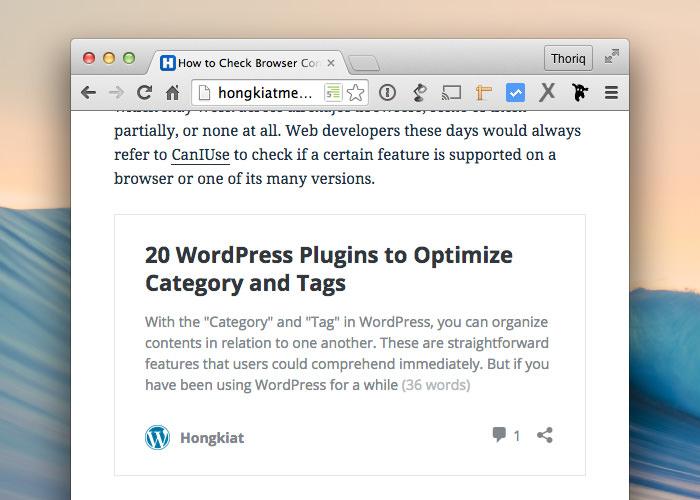 Как разрешить другим встраивать ваши сообщения WordPress
