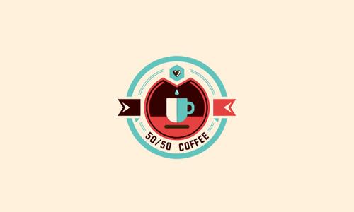20 пивоваренных кофейных тематических дизайнов логотипов