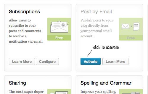Как опубликовать сообщение в WordPress по электронной почте