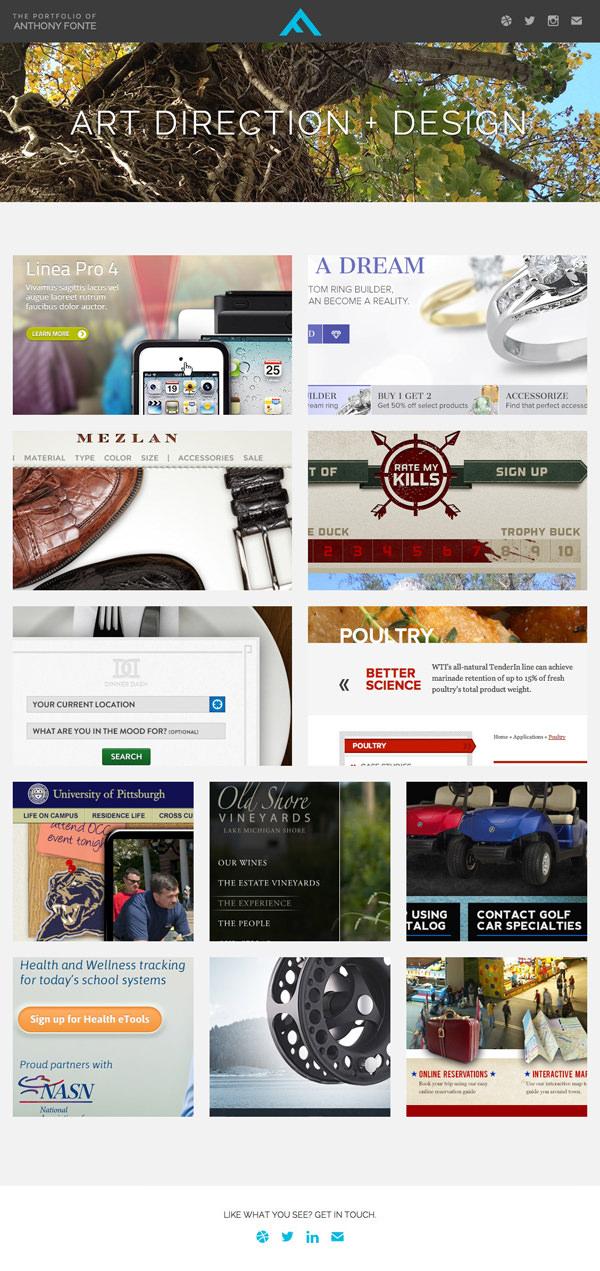 20 одностраничных сайтов для вашего вдохновения