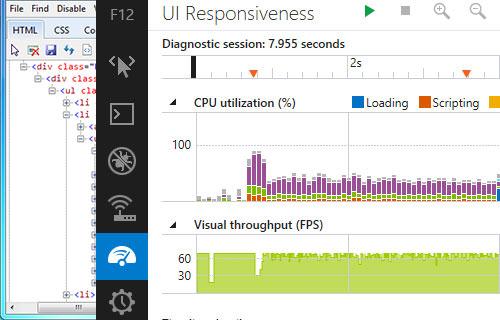 Взгляд в: Internet Explorer 11 DevTools