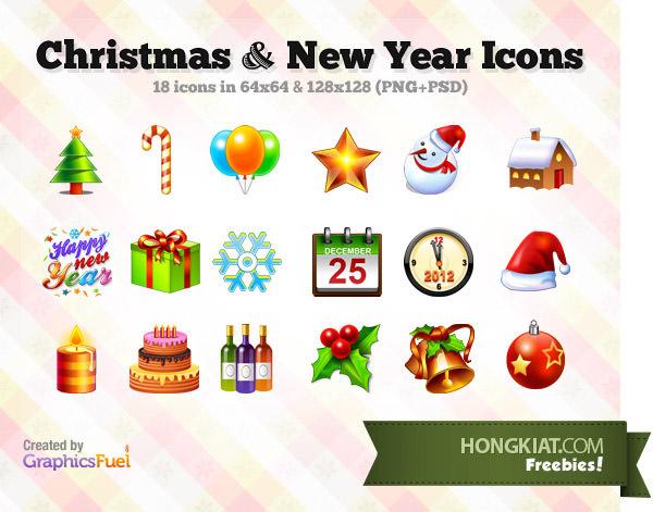 40 наборов иконок (и многое другое!), Чтобы принести Рождество в ваш дизайн