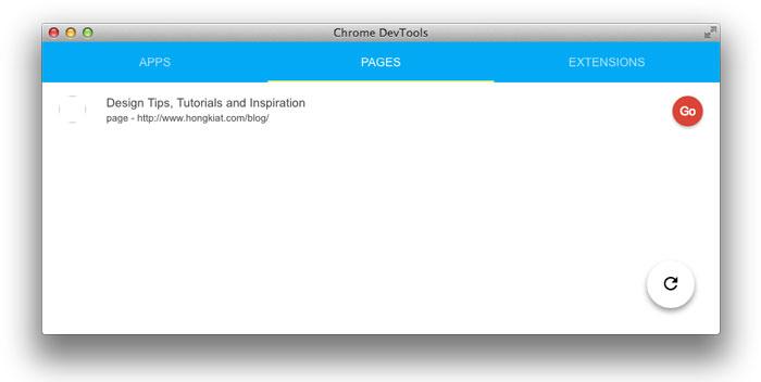 Как включить приложение Chrome DevTools для удаленной отладки
