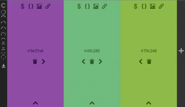 Нажмите, чтобы найти цветовую схему с ColourCode