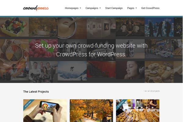 4 WordPress темы для создания собственного веб-сайта Crowdfunding