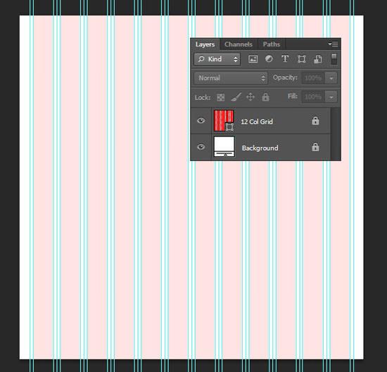 Создайте чистый и элегантный макет блога в Photoshop CS6