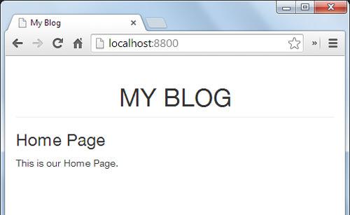 Как создать статический блог, используя Assemble