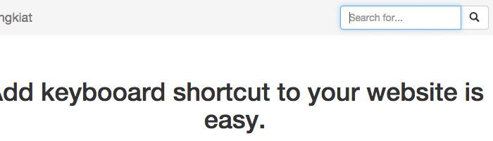Как добавить сочетания клавиш на ваш сайт