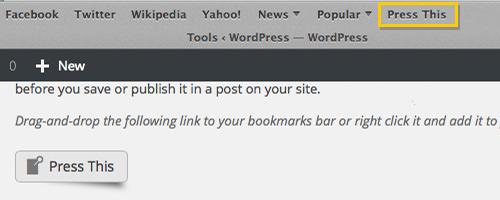 Переблокировать контент с других сайтов, используя букмарклет «Нажми это»