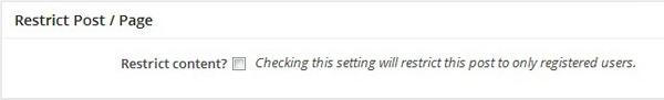 Как ограничить содержание для зарегистрированных пользователей [WP Plugin Tutorial]