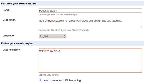 Установка Google Custom Search Engine (CSE) на сайте WordPress