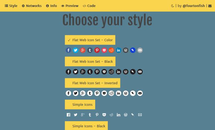 Оптимизация скорости WordPress с помощью пользовательских значков социальных сетей