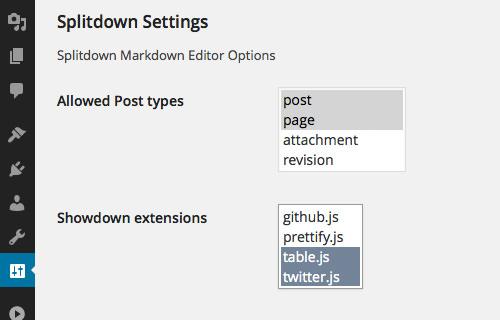 SplitDown: призрачный редактор для WordPress
