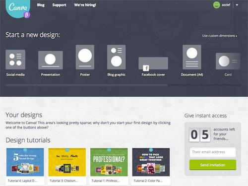 Создавайте профессионально выглядящую графику с помощью Canva