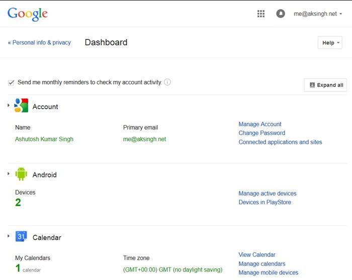 10 URL-адресов, чтобы узнать, что Google знает о вас