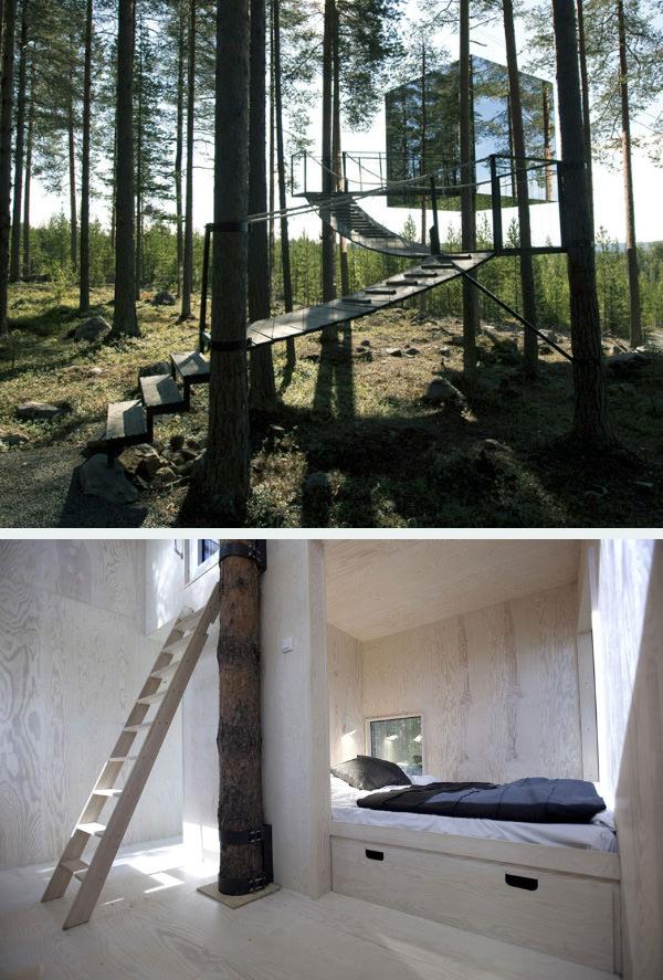 20 потрясающих домиков на дереве для вашего вдохновения