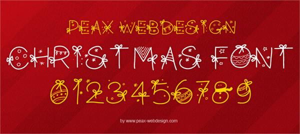 20 бесплатных шрифтов для дизайна на Рождество