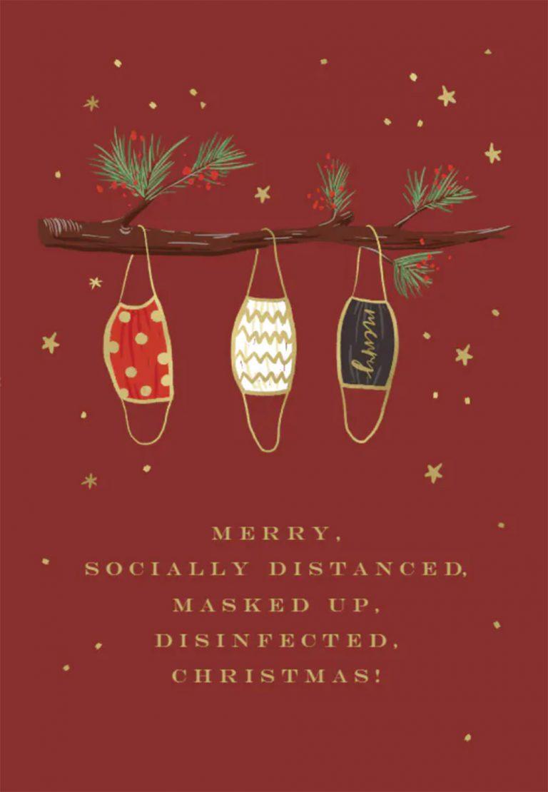 20 бесплатных шаблонов рождественских открыток, которые вы можете скачать