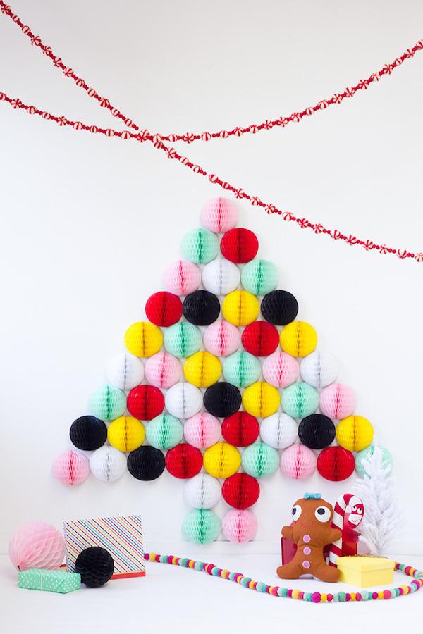 30 креативных рождественских елок своими руками для вашего вдохновения