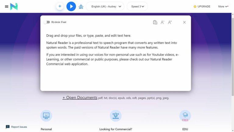 10 лучших приложений для преобразования текста в речь для вас (2021 г.)