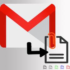 Загрузить все вложения из нескольких писем в Gmail