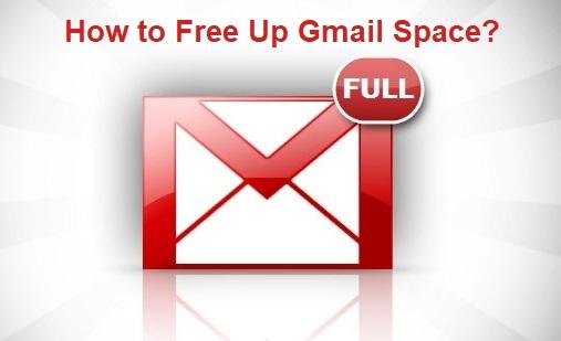 Как освободить место в Gmail