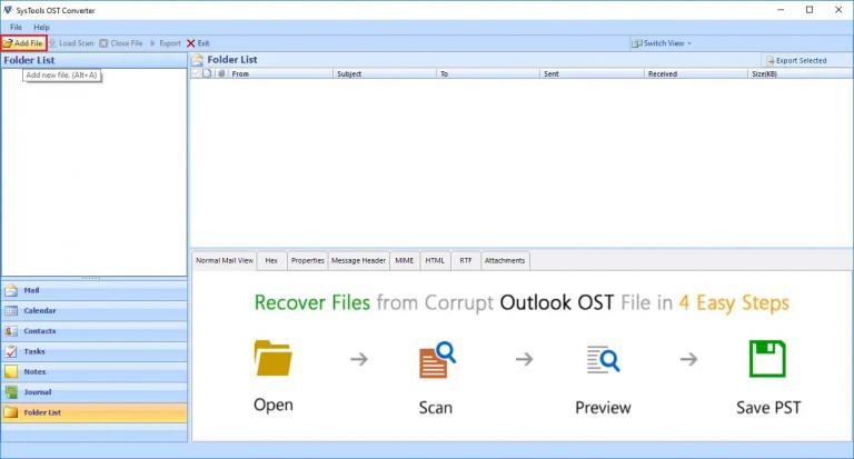 Сохранение электронных писем Outlook на жесткий диск с конфигурацией IMAP и POP