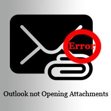 Как решить проблему, в которой Outlook не может открыть вложения в Outlook 2016, 2013, 2010?